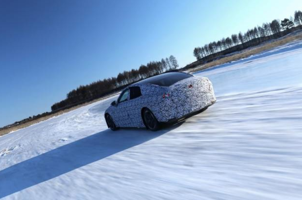 Photo: Xpeng's send all-electric model, the E28, will go into production at the company's own plant in early 2020.