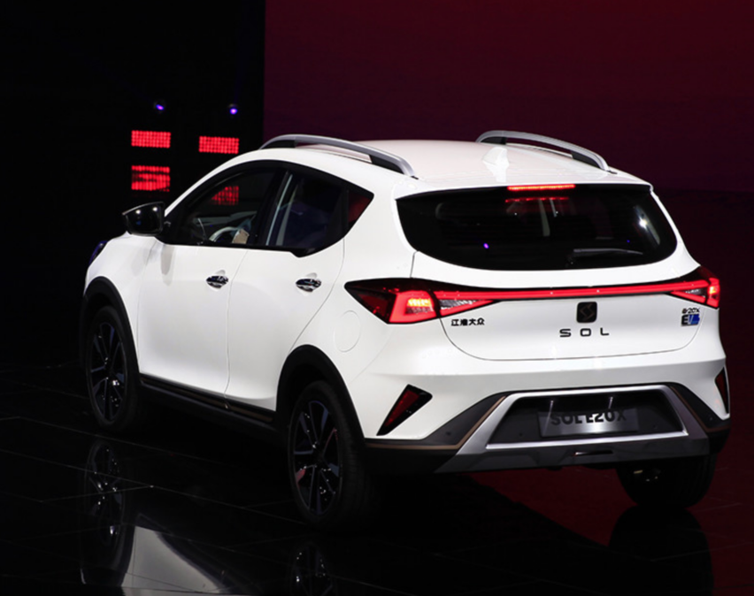 Photo: JAC Volkswagen's all-electric SOL E20X.