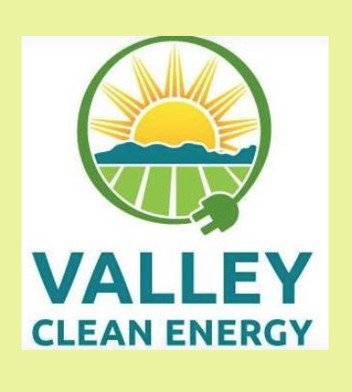Solar powered with goal of Zero-Net Energy and participation in the Valley Clean Energy Alliance -