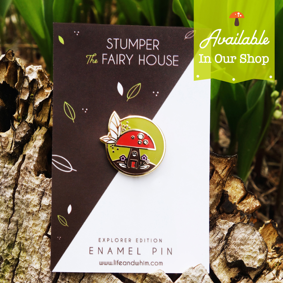 Copy of Copy of Fairy Trails Enamel Pin