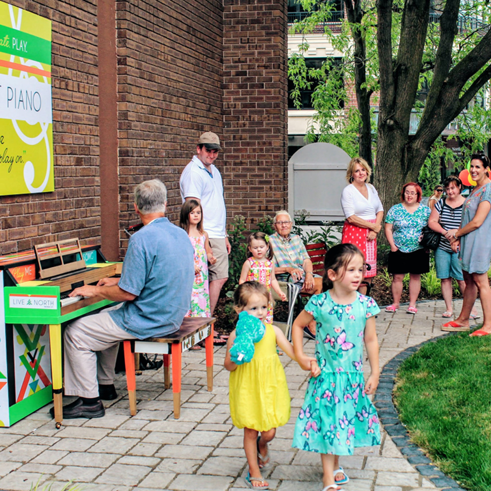 Traverse City Street Piano