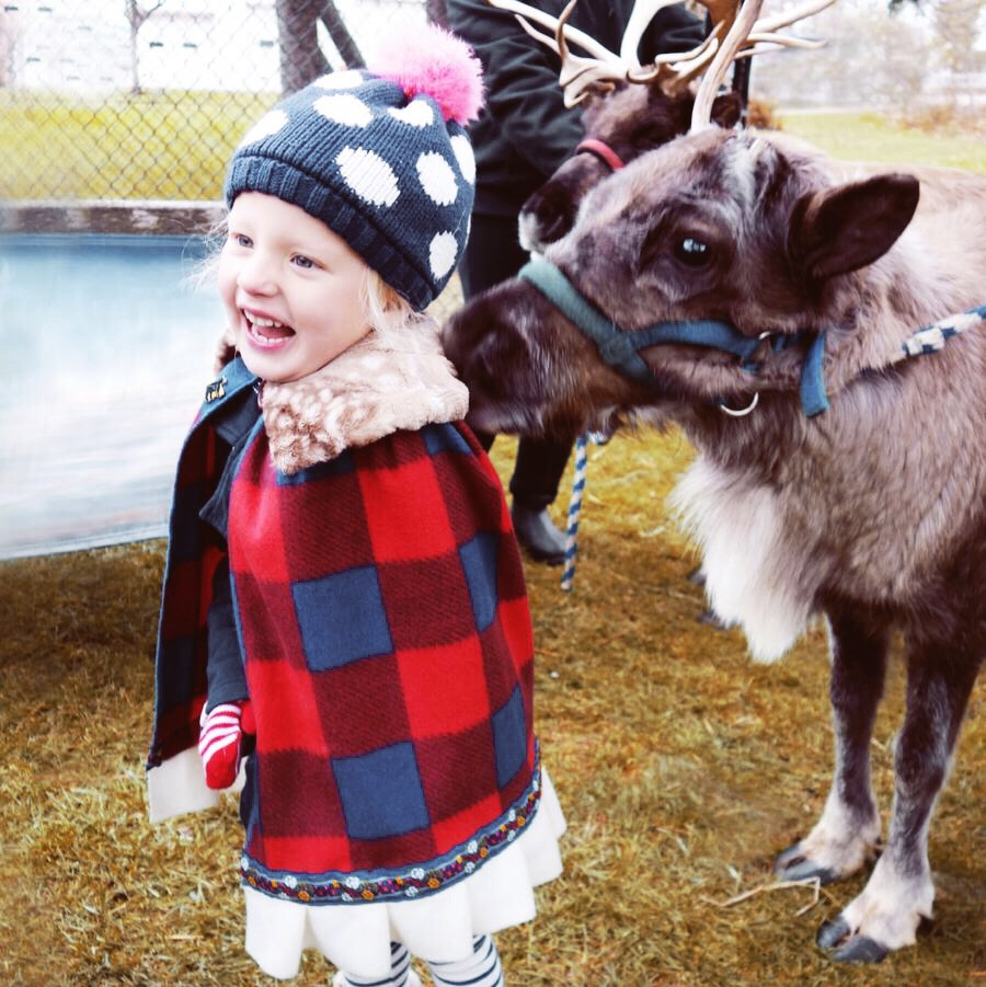 North Country Kid's Capes - Sure to keep your little one warm and toasty during the chilly weather! Our North Country capes are perfect for all sorts of outdoor adventure and whimsy! Watch out for friendly reindeer, they seem to love our capes too!
