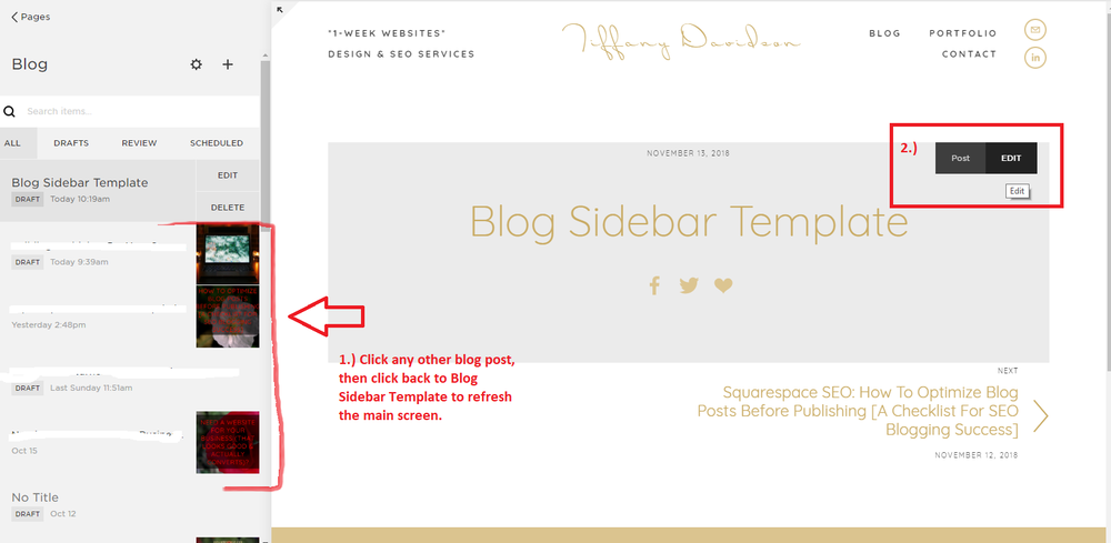 example of a sidebar, blog sidebar examples, what is a sidebar on a website, what to include on blog sidebar, what to put on sidebar, blog sidebar design, sidebar or no sidebar, is sidebar necessary, squarespace sidebar plugin, squarespace sidebar css, squarespace templates with sidebar navigation, squarespace sidebar menu, squarespace blog templates, Tiffany Davidson, squarespace web designer, freelance squarespace web designer, squarespace seo expert