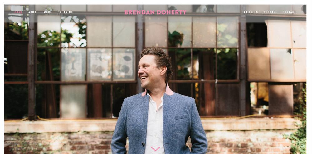 Brendan Doherty Tiffany Davidson Squarespace Web Designer Squarespace SEO Expert Portfolio