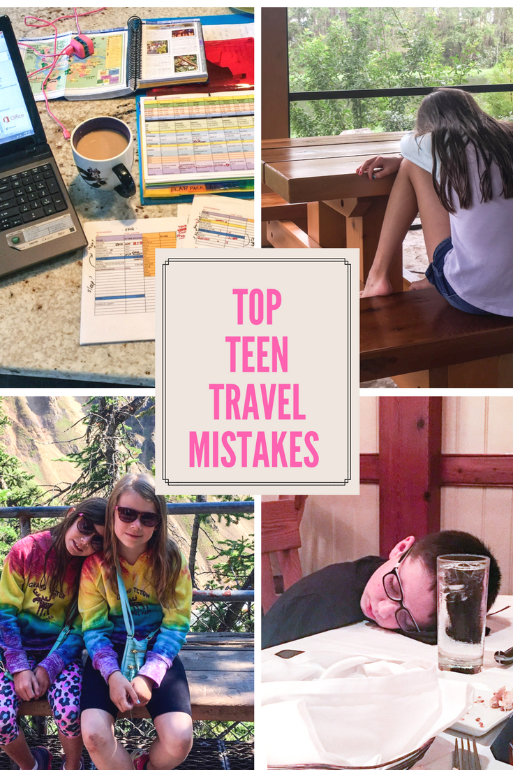 Two Scoops Travel's Top Teen Travel Mistakes