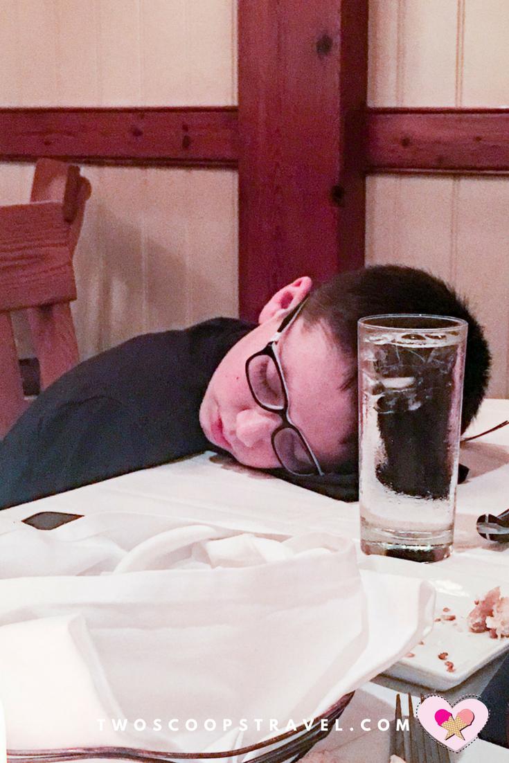 Teen Travel Mistake #5 - Not enough sleep