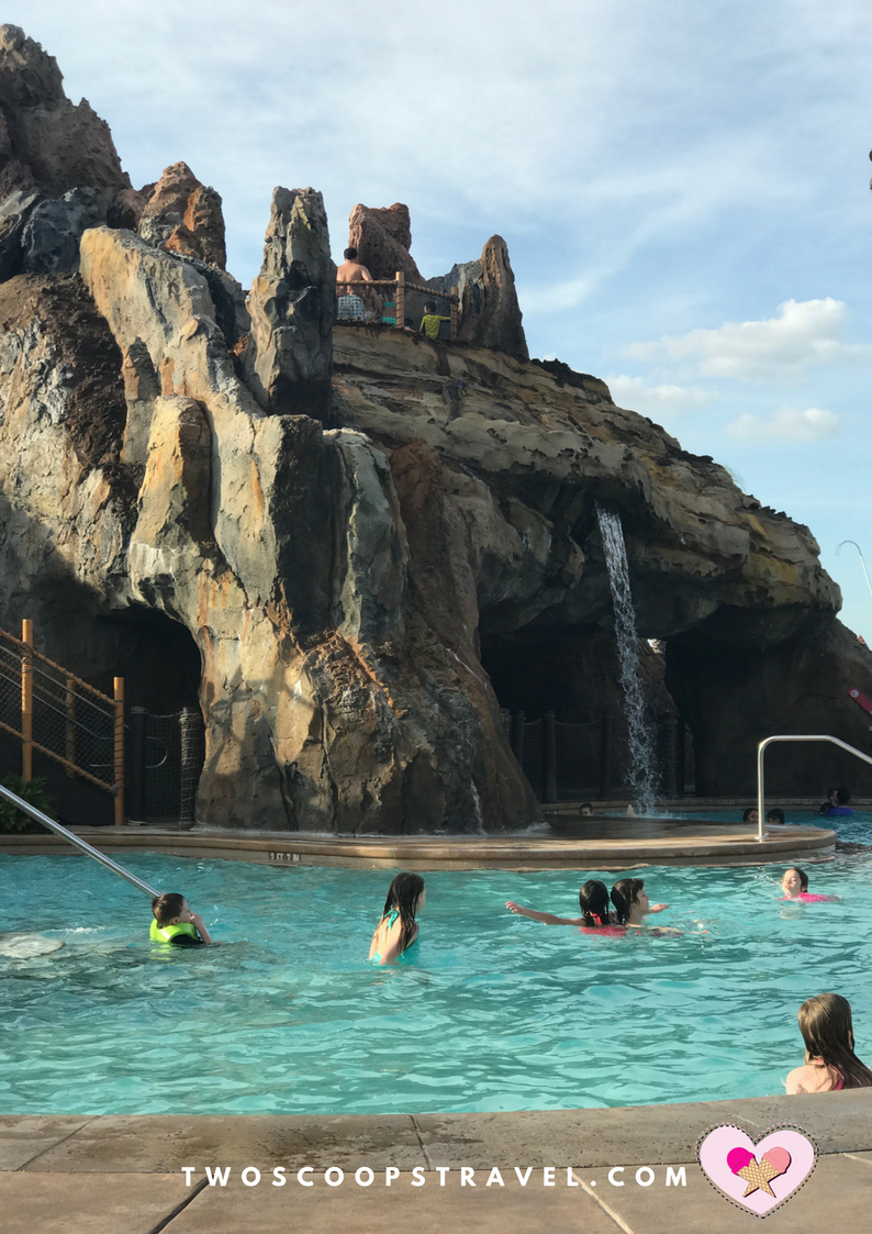 Disney's Polynesian Resort Lava Pool