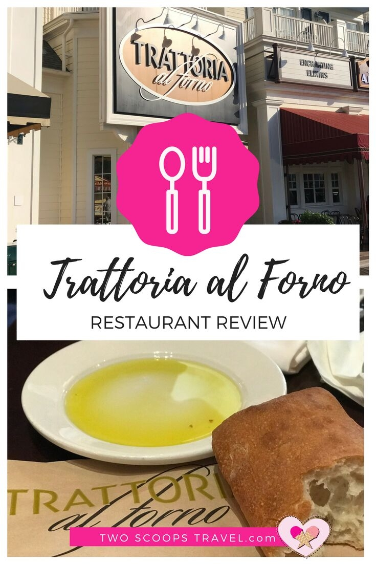 Trattoria al forno at Disney's Boardwalk Resort