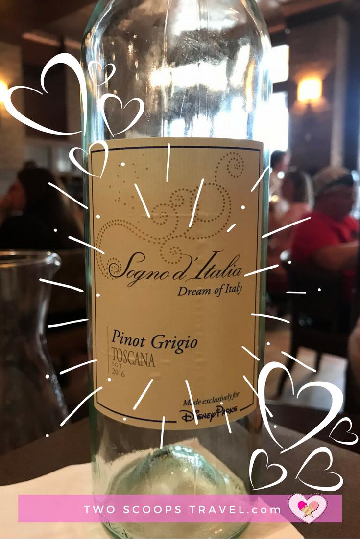 Disney Parks' Signature Pinot Grigio