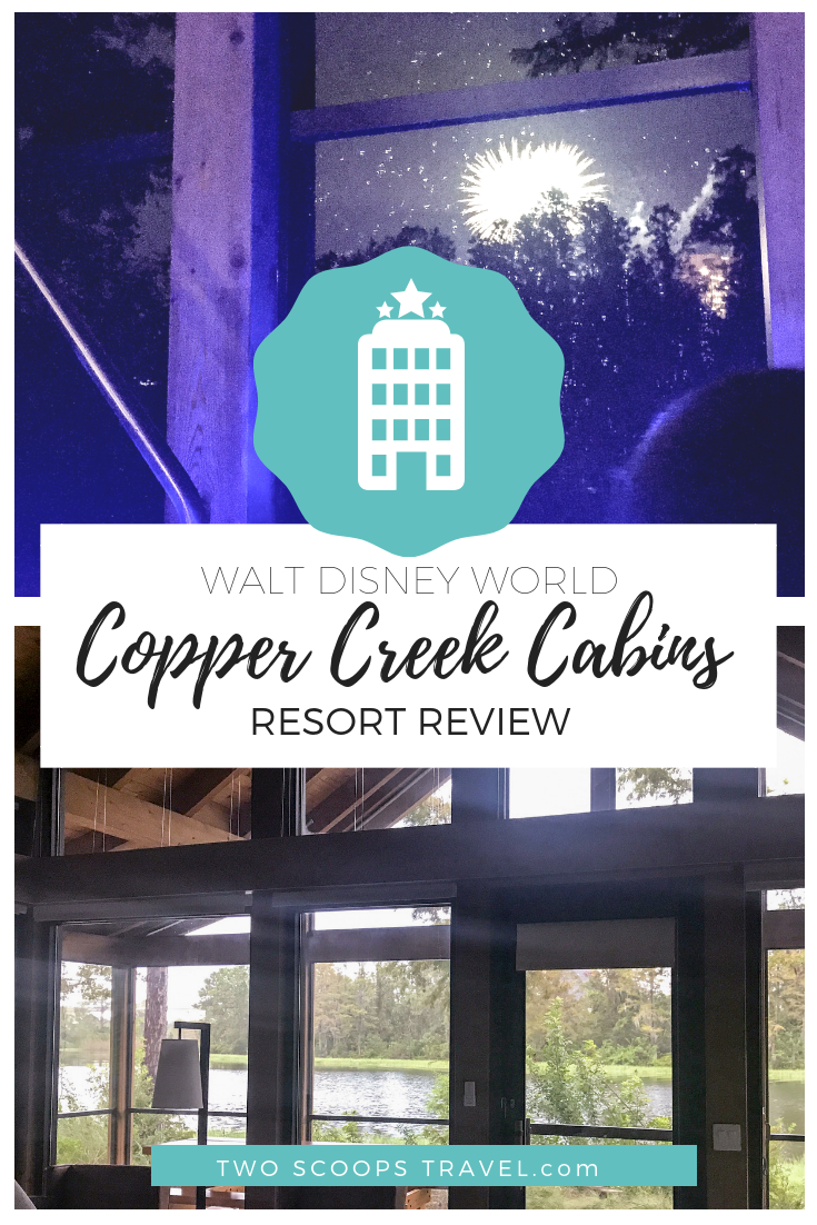 Review of Disney Wilderness Lodge Copper Creek Cabins by Two Scoops Travel