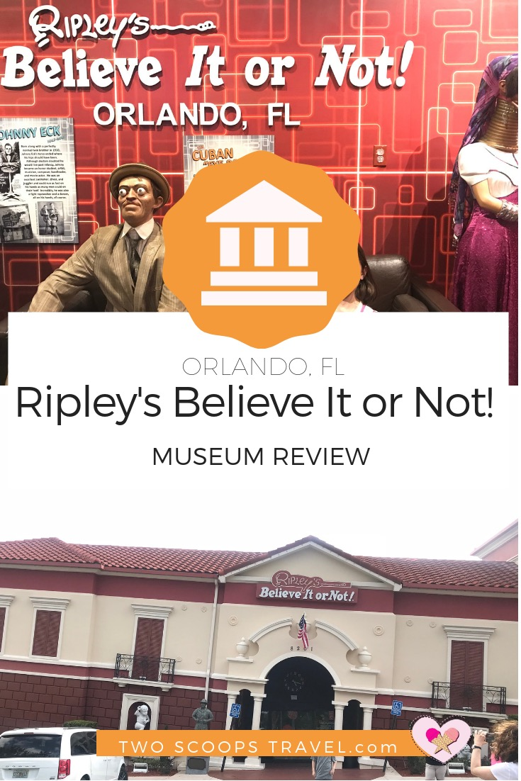 Ripley's Believe It or Not Museum Review by Two Scoops Travel 2018