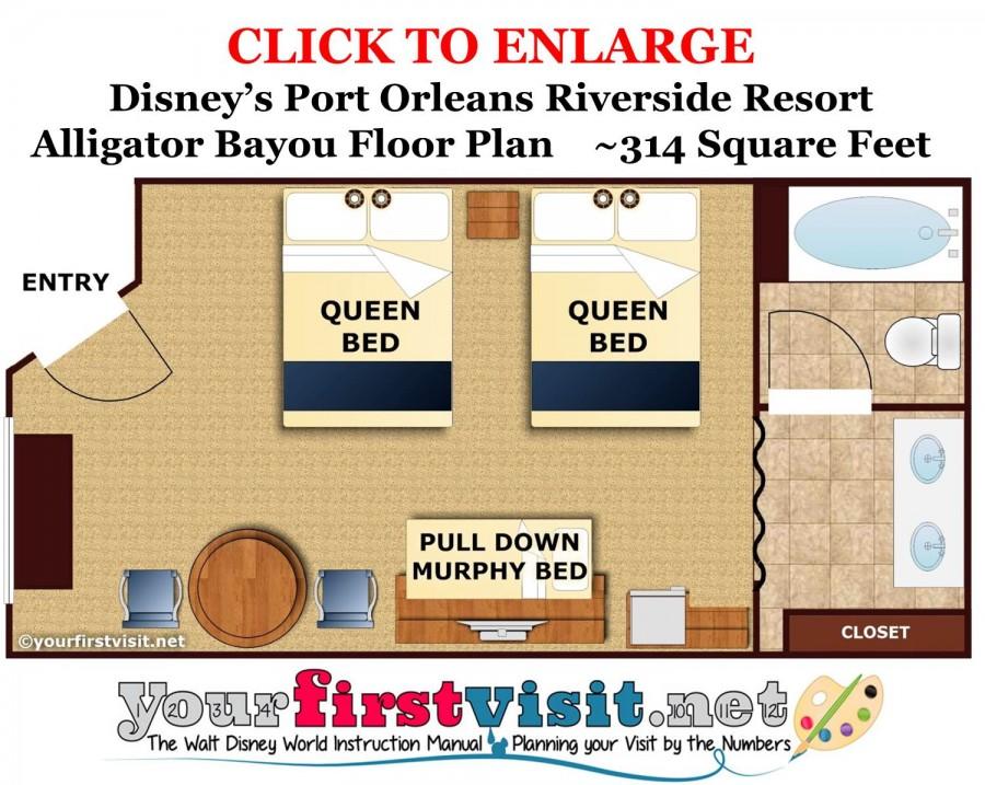 Garden View - 5th Sleeper - 2 Queen Beds, 1 Pull Down Murphy Bed