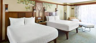 Standard View - Views of Disneyland Drive, Rooftop or Parking Area 1 King Bed and 1 Twin-Size Sleeper Chair or 2 Queen Beds or 2 Queen Beds and 1 Day Bed or 1 King Bed and 1 Day Bed and 1 Twin-Size Sleeper Chair or 2 Queen Beds and 1 Twin-Size Sleeper ChairSleeps up to 5 Adults