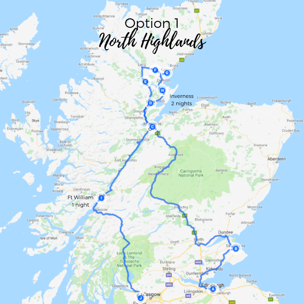 Spend 2 nights in Inverness and explore the wild beauty of the North Highlands, the most untouched parts of the country. -