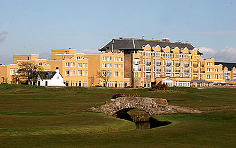 old course hotel - Bordering the renowned 17th Road Hole of the Old Course, the Old Course Hotel overlooks the famous links courses and the West Sands Beach.RATINGS: 4.5/5 TRIPADVISOR | 5 STAR RESORTSTANDARD KING: $550 per night + tax