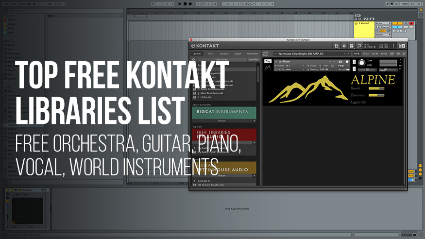 Top 20 Free Kontakt Libraries of 2019!