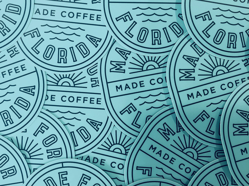 Made Coffee Stickers
