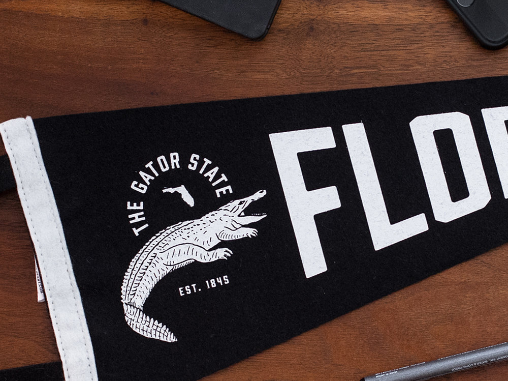 The Gator State Pennant
