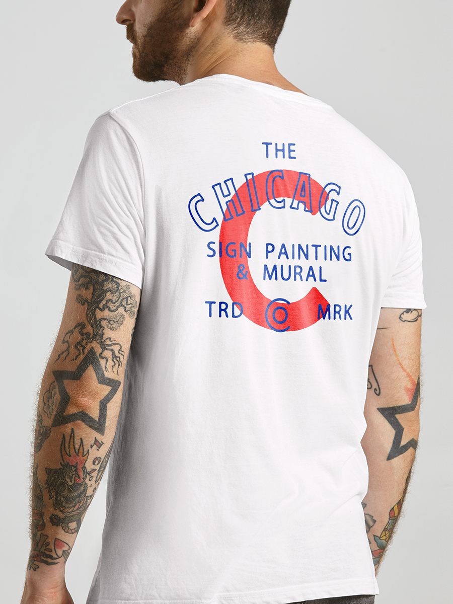 The Chicago Sign Painting & Mural Co. Logo Design