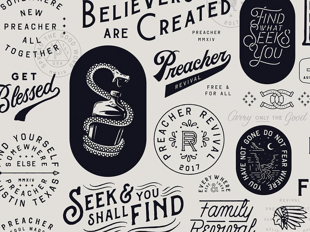 Design Assets for Preacher
