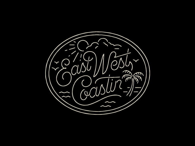 East West Logo Design