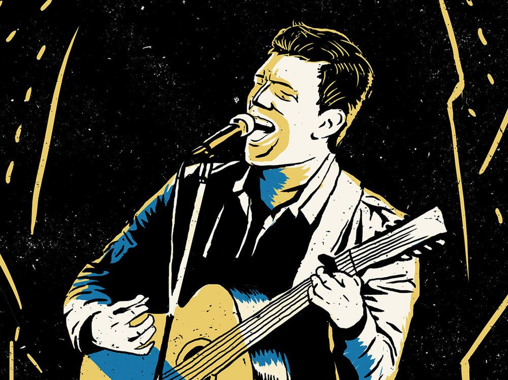 Hamilton Leithauser illustration. Work done at Preacher.