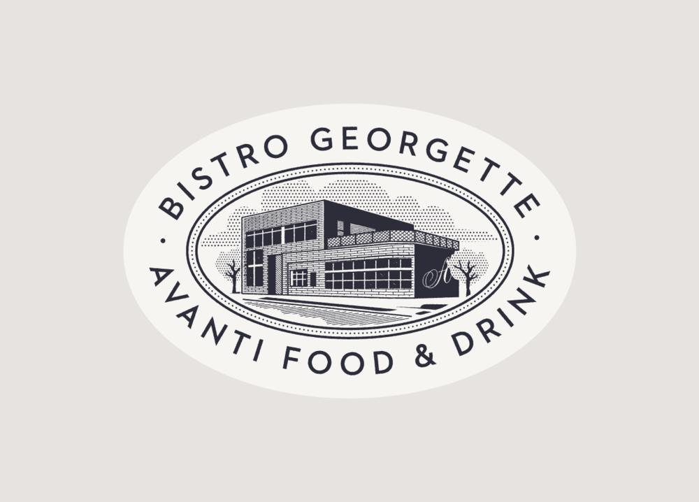 Bistro Georgette Logo Design