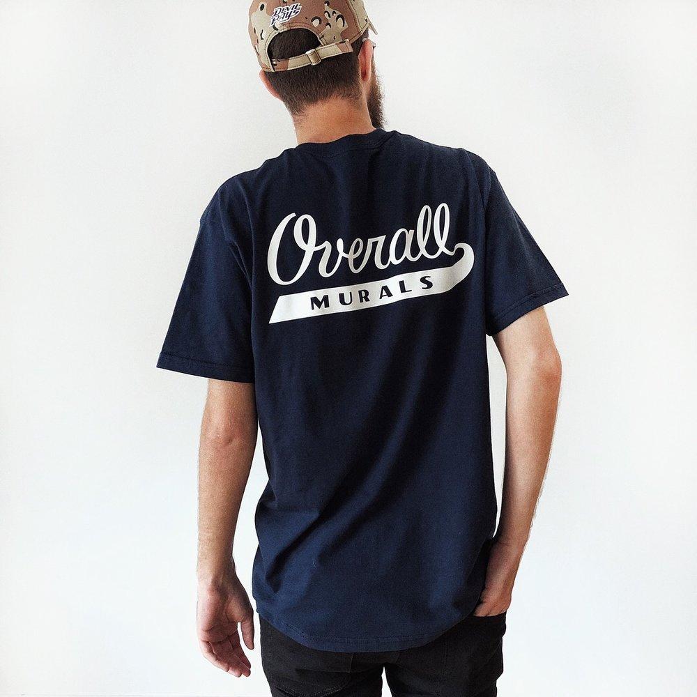 Overall Murals Logo T-shirt