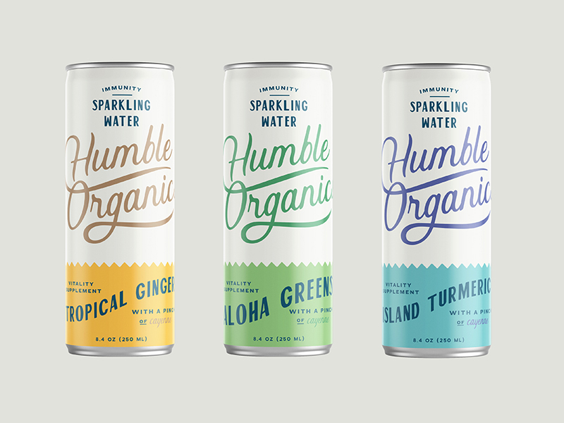 Humble Organics Packaging Design
