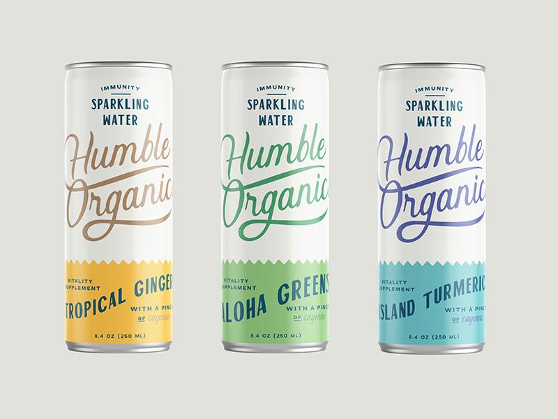 Humble Organics Packaging Design