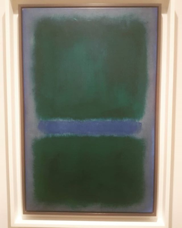 Blue Green by Rothko. I have been working at the Newark Museum helping to make custom displays for the new American wing.  This piece is part of the collection, and I was happy to see the colors and the name.  I have just started a design and strategy company called Blugreen. Started out of my Blue Green Patagonia backpack, so loving all things Blue Green these days.  Details to come about my company and offerings, but so far I am working with clients in the Insuretech and energy industries honing brand visuals and giving input into strategy.