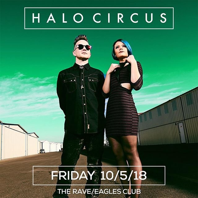 Milwaukee! Friday Night Oct 5 at @theraveusa . We are so excited to play this amazing venue. We ❤️ U #Milwaukee! Tickets go on sale Wed 10am CT. Therave.com/HaloCircus #halocircus #therave #wisconsin #allisoniraheta #duo #electronic #rock #alternative #electrorock #photography #art #losangeles #fridaynight