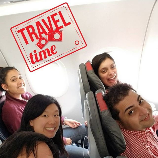 A team that travels together... stays together! Here's a #throwback to when the team was heading off to #Dallas #Texas to attend and experience @planmeca_official University! . ✔️ Lots learned! 💯 Fulfilling trip! . . . . . #dearfield #family #dentistry #dentists #dentist #teeth #smiles #smiling #smile #pearlywhites #pearlywhite #hygiene #sofreshandsoclean #drgogate #rishidds #drlin #racheldds #teamworkmakesthedreamwork #greenwich #greenwichct #connecticut #USA #healthcare #featured #cleaning #hygienist #visit