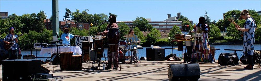 Lowell African festival w/Paa Seck Diery