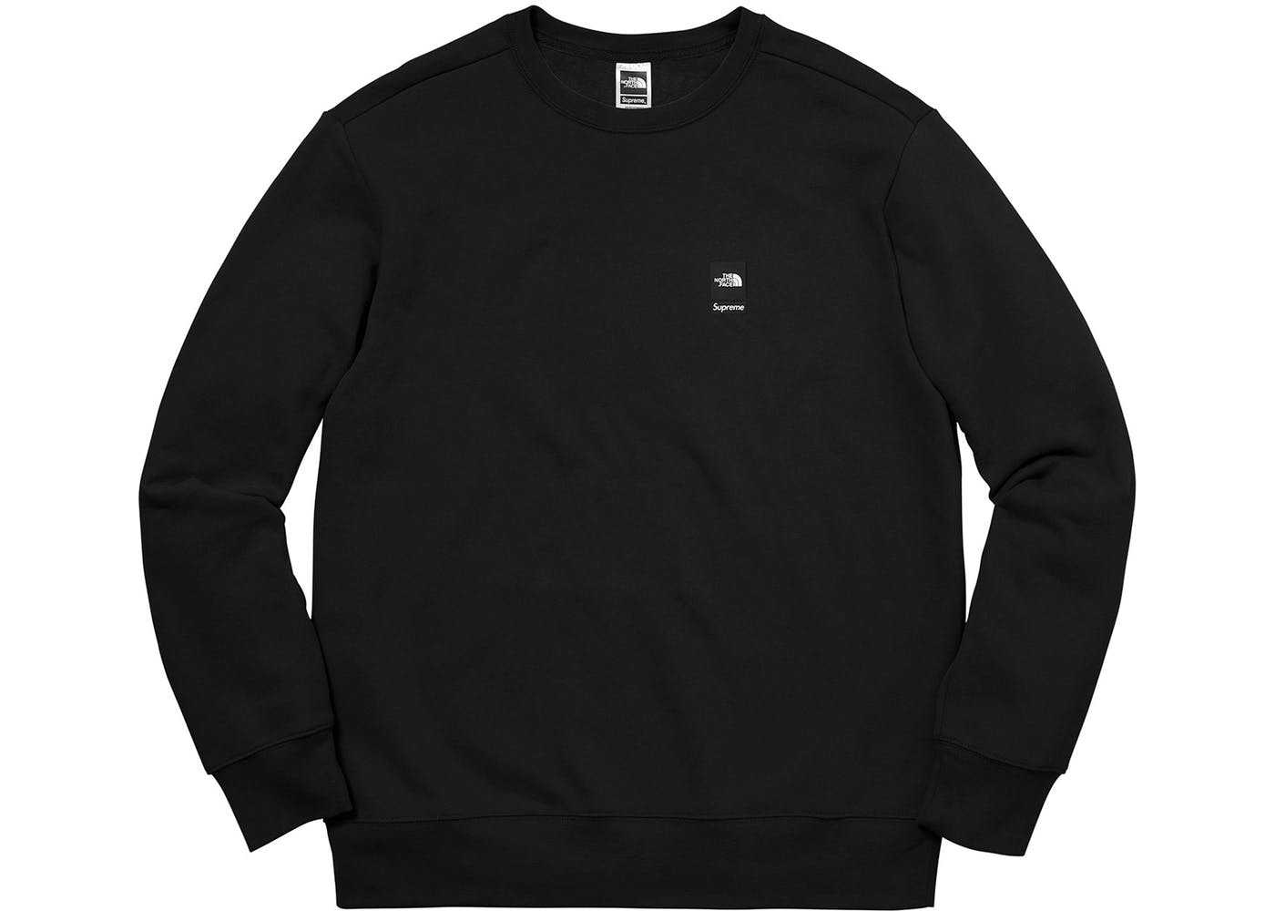d854764f Supreme X The North Face Mountain Sweatshirt Black — Deadstock Chicago