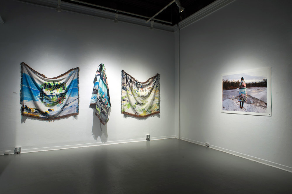 MFA Thesis Exhibition Anna Leonowens Gallery, Halifax NS March 23-April 4 2015