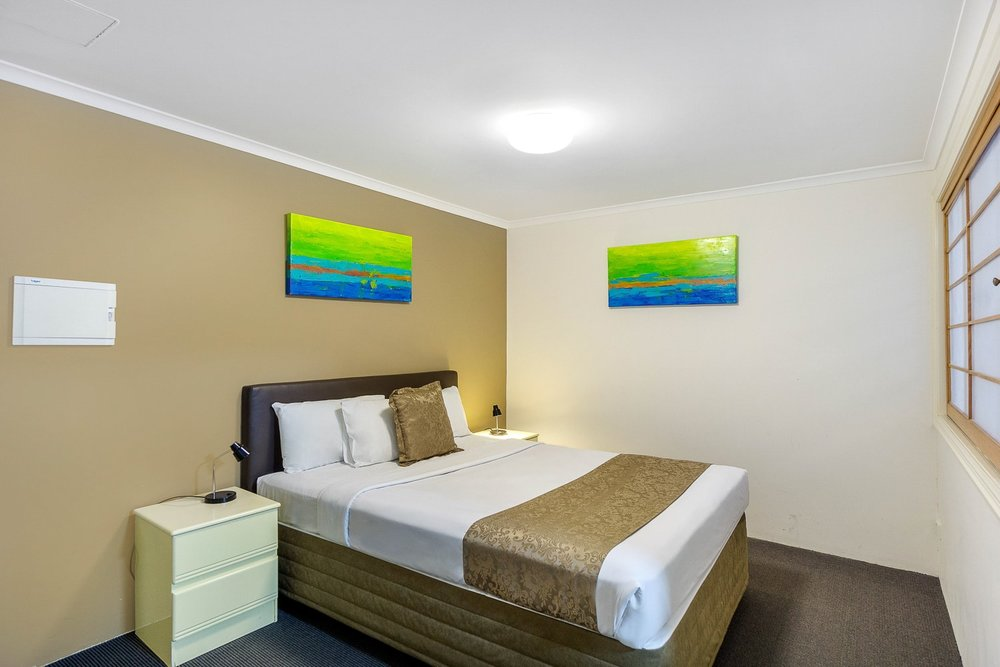 Accessible Studio - 1 x Queen Bed, 1 x Single Bed • Wheelchair AccessiblePrivate Ensuite • Free WiFi • Kitchenette • TV • AirconMORE INFO