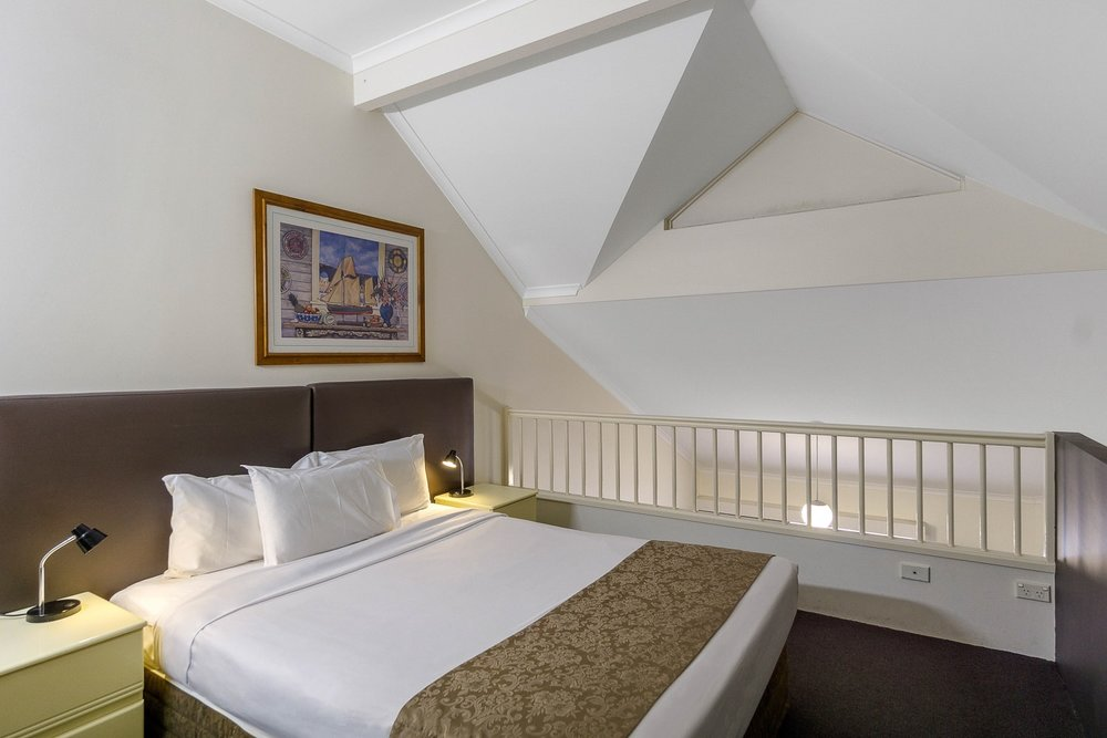 Twin Loft - Ground Level: 1 x Queen BedLoft Level: 1 x Queen BedPrivate Ensuite • Free WiFi • Kitchenette • TV • AirconMORE INFO