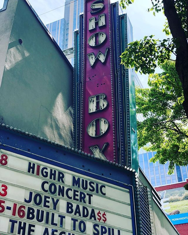 We will be at one of Seattle's legendary venue The Showbox!  Get ready for tonight #H1GHR Seattle!  Tonight's show will be one for the books!  #h1ghrmusic #h1ghrmusictour2018 #sivagroupent #하이어뮤직