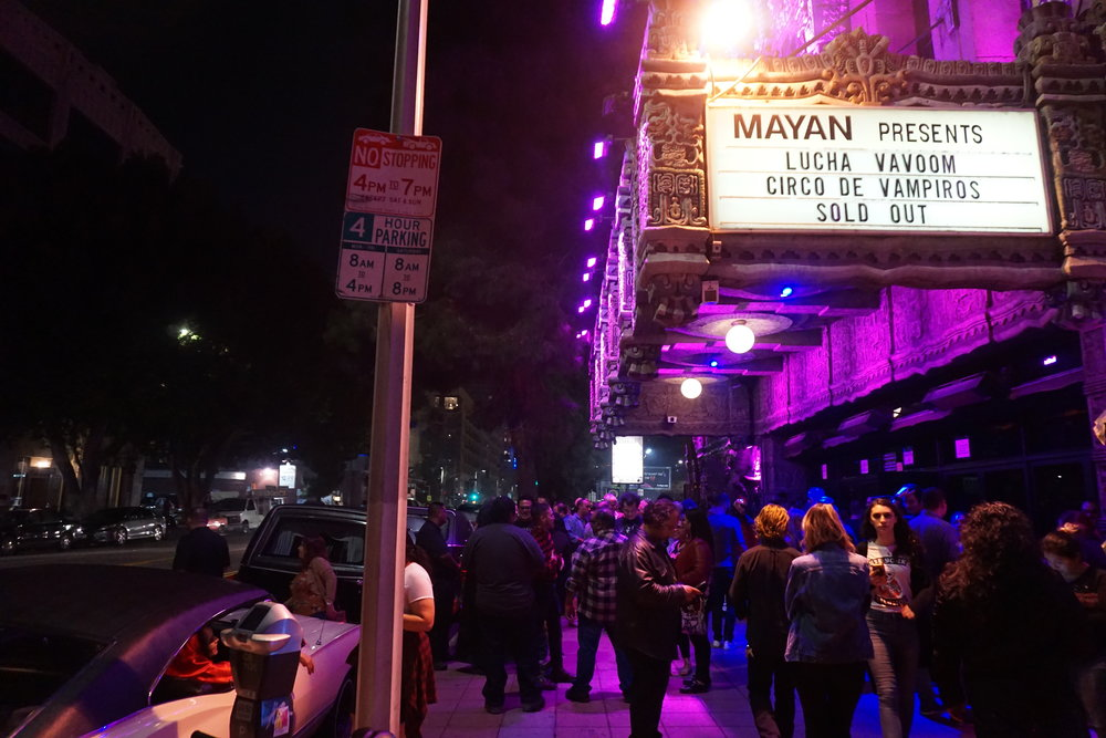 The Mayan Theatre by Andrea Antolini