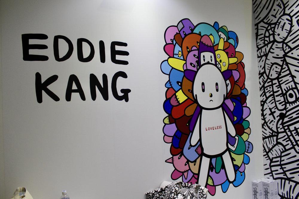 Eddie Kang booth