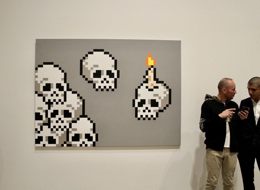 Invader skulls