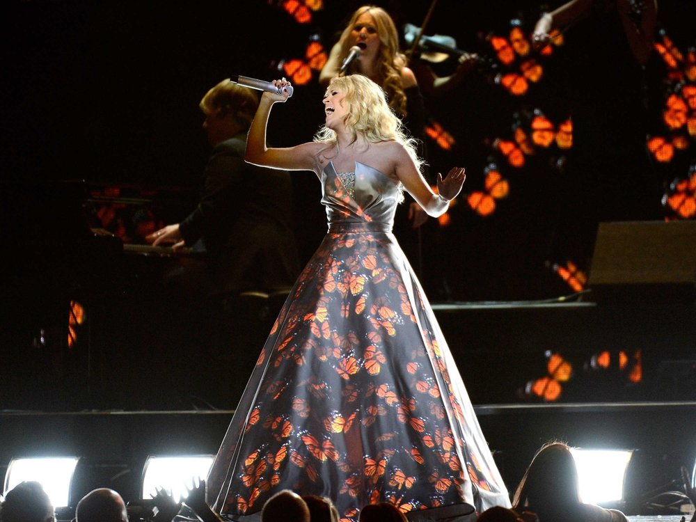 55TH GRAMMYS - CARRIE UNDERWOOD