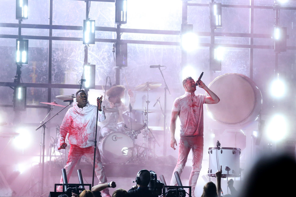 IMAGINE DRAGONS - GRAMMYS WITH KENDRICK LAMAR