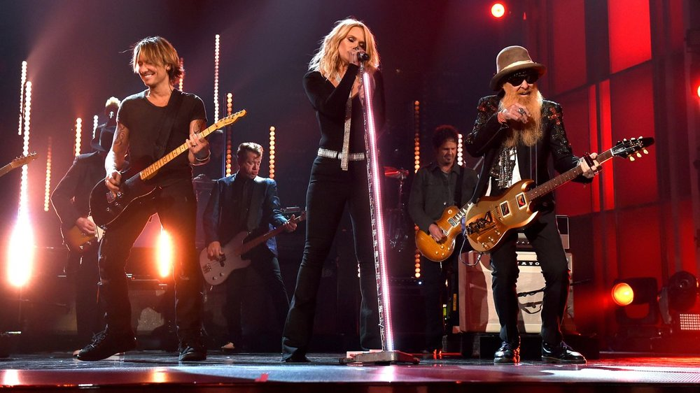 MIRANDA LAMBERT - ACMS WITH KEITH URBAN / BILLY GIBBONS