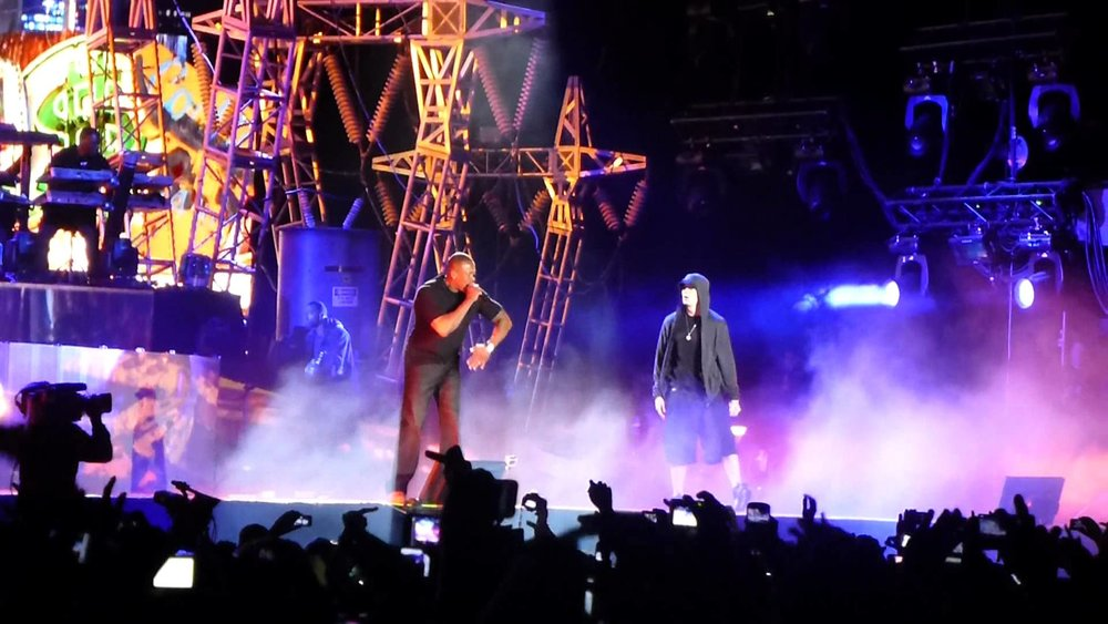 DR. DRE & SNOOP DOGG - COACHELLA WITH EMINEM