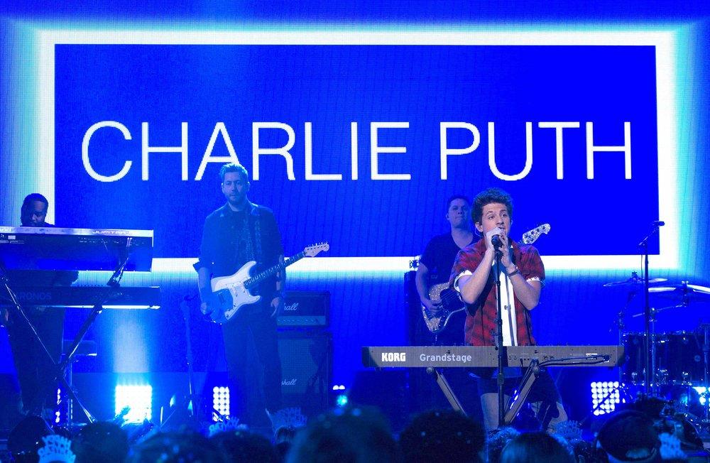 CHARLIE PUTH - NEW YEAR'S ROCKIN' EVE