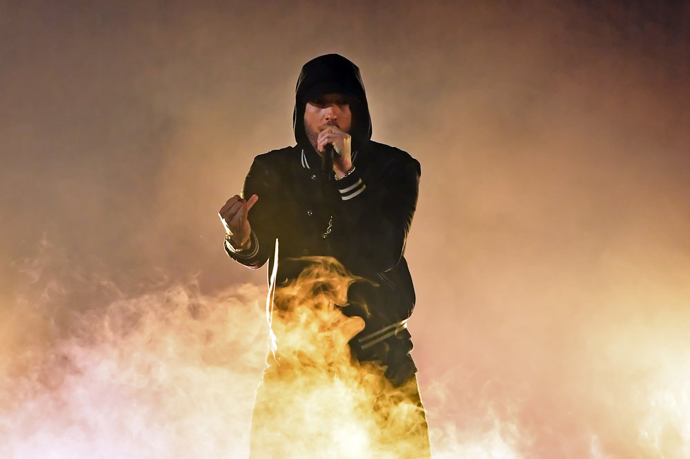EMINEM - IHEART RADIO MUSIC AWARDS