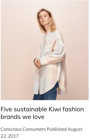 Five sustainable Kiwi fashion brands we love