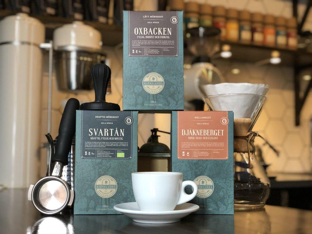 SHOP - Här hittar du hela vårt sortiment& tillbehör till både kaffe & te